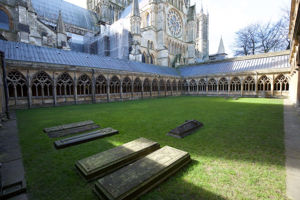 Lincoln Cathedral Cloisters