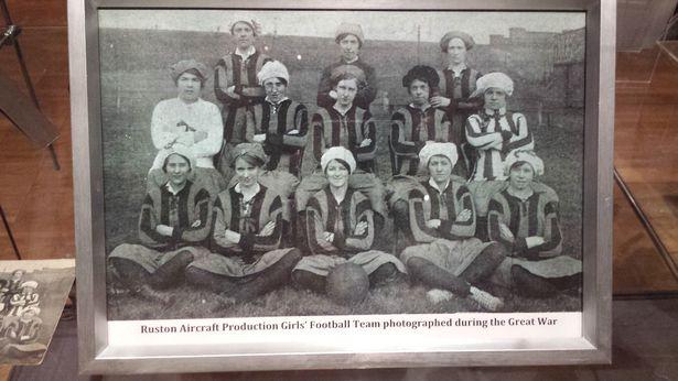 Ruston's women's football team